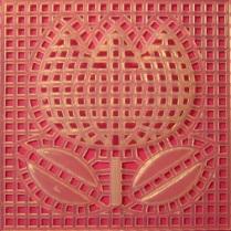 หางานทำ งานฝีมือทำที่บ้าน งานปักแผ่นเฟรมรูปดอกทิวลิป สร้างรายได้เพิ่ม